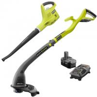 Ryobi One+ 18-Volt String Trimmer and Blower Combo