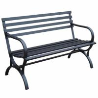 Garden Treasures Steel Patio Bench