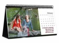 Personalized Photo Desktop Calendar