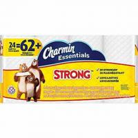 24 Charmin Strong Toilet Paper Rolls