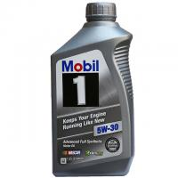 6-Quarts Mobil 1 Synthetic 5W-30 Motor Oil