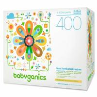 600 Babyganics Face Hand and Baby Wipes