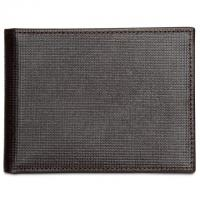 Perry Ellis Portfolio Mens Leather Front-Pocket RFID Wallet