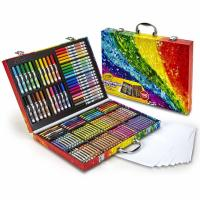 Crayola Inspiration 140-Piece Art Case Set