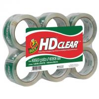 6x Duck HD Clear Heavy Duty Packaging Tape Refills