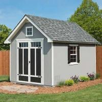 Oakridge 8x12 Wood Storage Shed