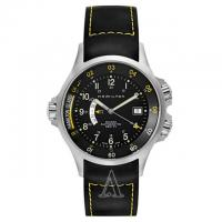 Hamilton Mens Khaki Navy Automatic GMT Watch