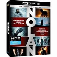 Christopher Nolan Collection + Martian + Yes Man Blu-ray