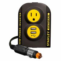 Stanley FatMax 140W 12V DC to 120V AC Power Outlet Inverter