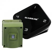 Guardline 1/4 Mile Long Range Wireless Motion Sensor and Detector