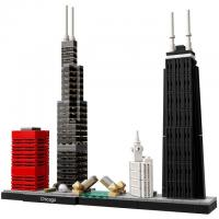 444-Piece LEGO Architecture Chicago Skyline Building Blocks Set