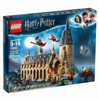 878-Piece LEGO Harry Potter Hogwarts Great Hall Building Set