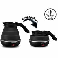 Gourmia GK320 Dual Voltage Foldable Travel Electric Kettle