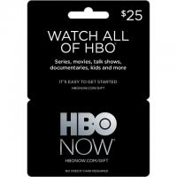 HBO Now Gift Card 20% Off