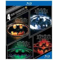 4-Film Batman Collection Blu-ray