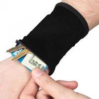 Stretchy Credit Cards Keys Wrist Wallets