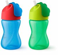 2-Pack Philips Avent 10oz My Bendy Straw Cup