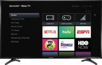 Sharp 50in 4K UHD HDR Roku Smart TV with Google Nest Mini 2