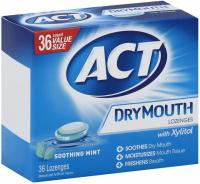36 ACT Dry Mouth Lozenges