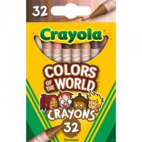 32-Count Crayola Colors of the World Crayons