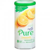 5 Crystal Light Pure Lemonade Drink Mix Pitcher Packets