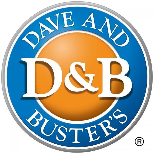 Dave and Busters 1/2 Price Games on Wednesday