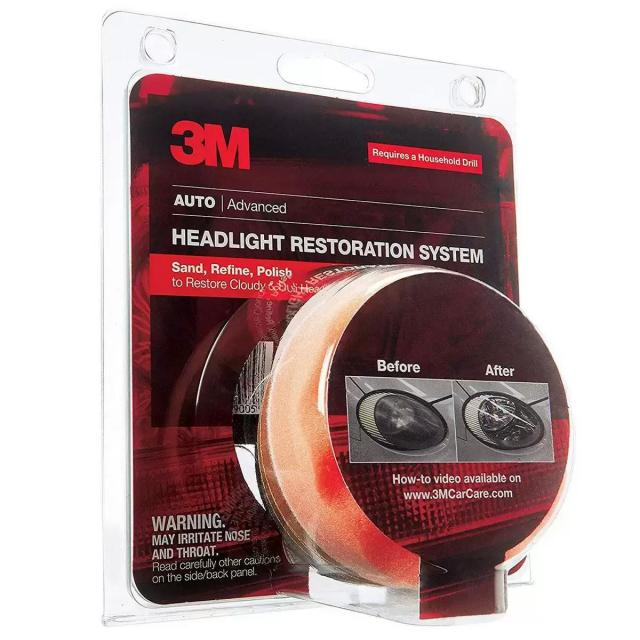 3M Headlight Lens Restoration System for $10.50