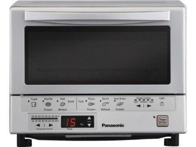 Panasonic NB-G110P Flash Xpress Toaster Oven for $73.99