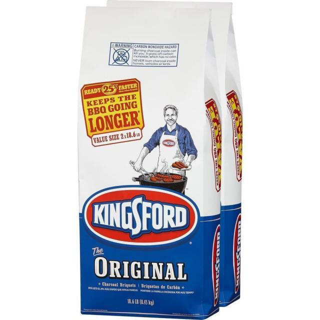 37lbs of Kingsford Charcoal Briquettes for $9.88