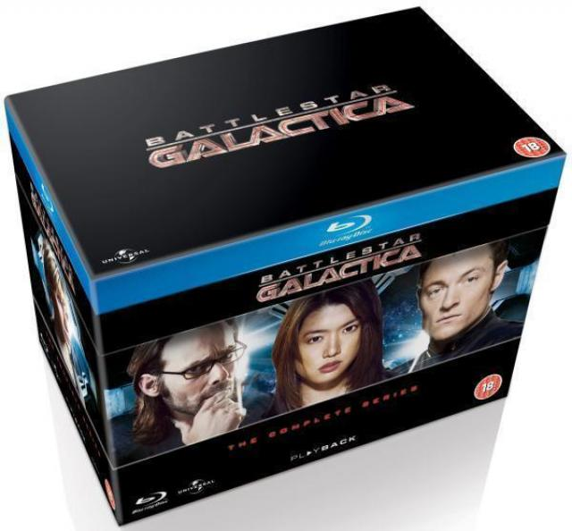 Battlestar Galactica The Complete Blu-Ray Series for $29.41