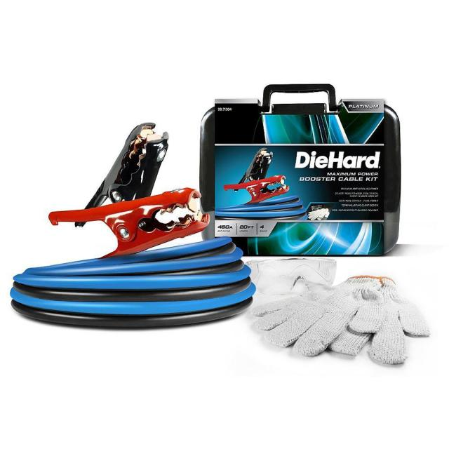 DieHard Platinum 20ft Jumper Cable Kit with $30 Credit for $37.49
