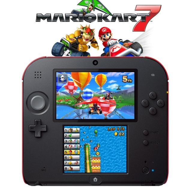 Nintendo 2DS with Mario Kart 7 for $69