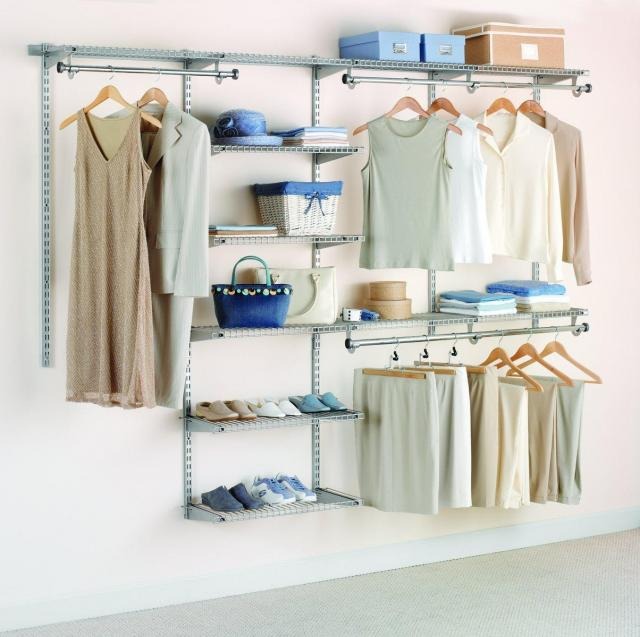 Rubbermaid Configurations Custom Closet Kit for $75.99