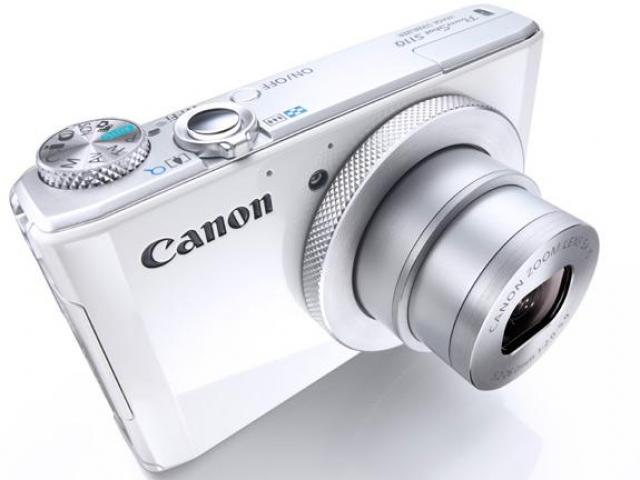 Canon PowerShot S110 12MP 5x Digital Camera for $134.99