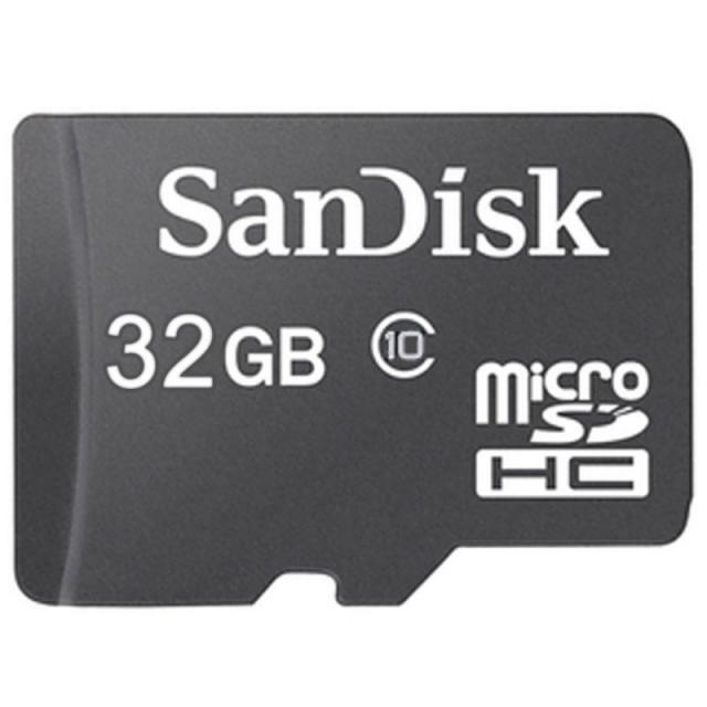 SanDisk 32GB Class 10 microSDHC Memory Card for $10