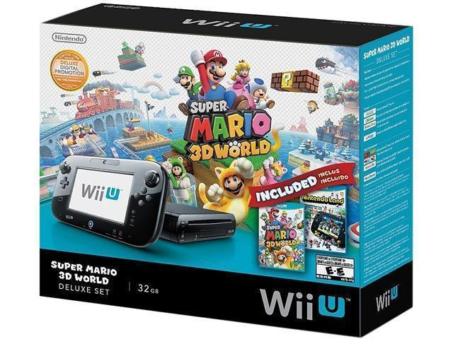 Nintendo Wii U 32GB Deluxe Set with Mario 3D for $259.99