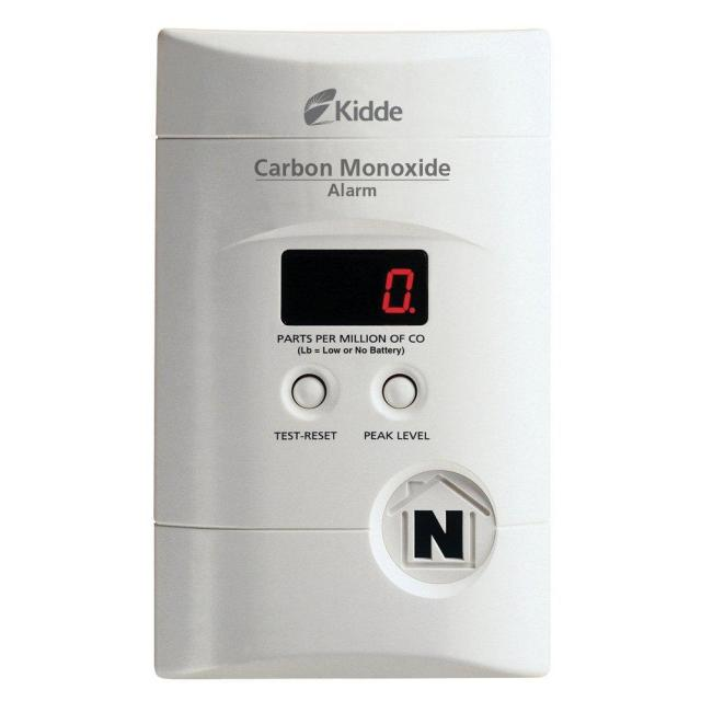 Kidde Plug-in Carbon Monoxide Alarm for $24