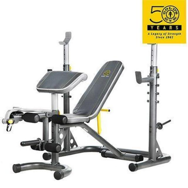 Golds Gym XRS 20 Olympic Workout Bench for $139