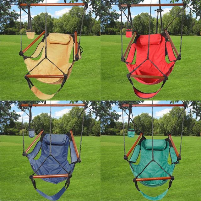 Outdoor Indoor Hammock Hanging Chair for $24.89