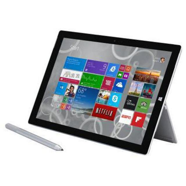 Microsoft Surface Pro 3 12in 128GB Wifi Tablet for $499