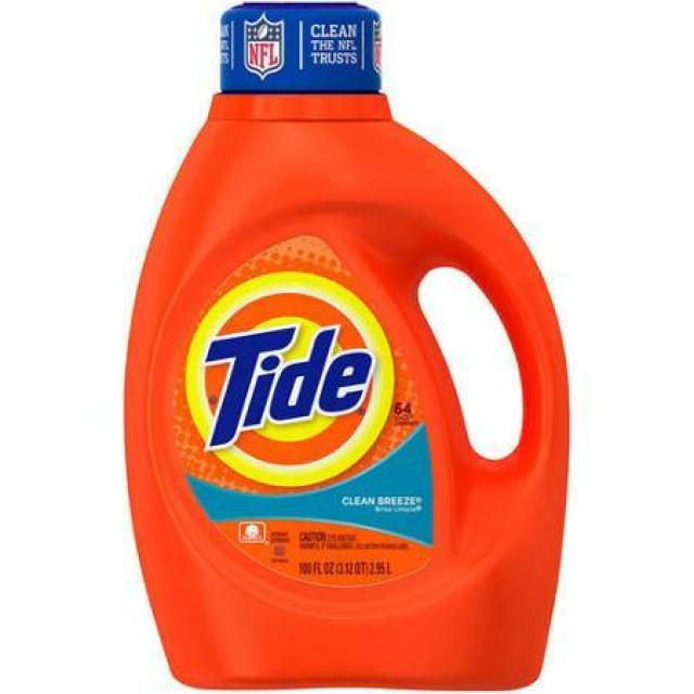 200oz Tide Liquid Laundry Detergent for $16.79