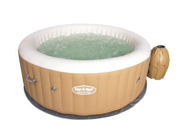 Bestway Lay-Z-Spa Palm Springs Inflatable Hot Tub for $337.48