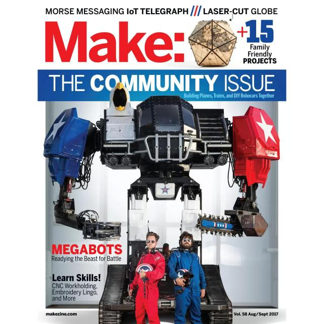 Make Magazine Subscription for $14.95