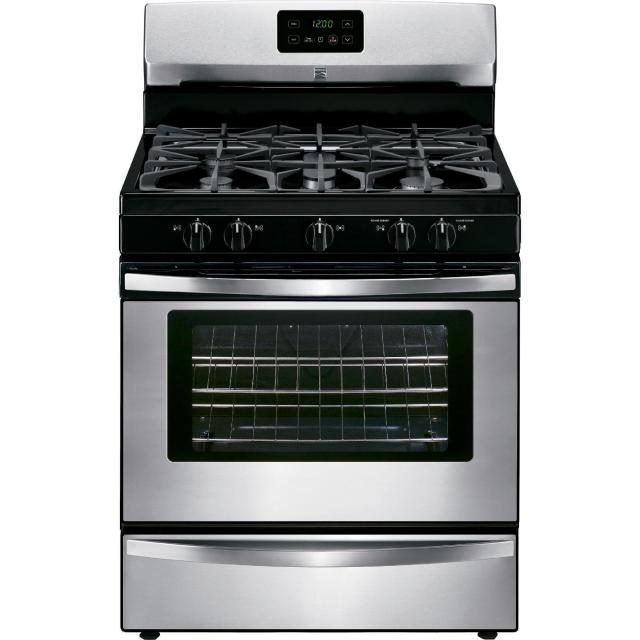 Kenmore 4.2ft Stainless Steel Gas Range for $354.99