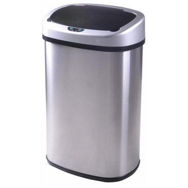 13-Gallon Touch-Free Sensor Automatic Trash Can for $31.99