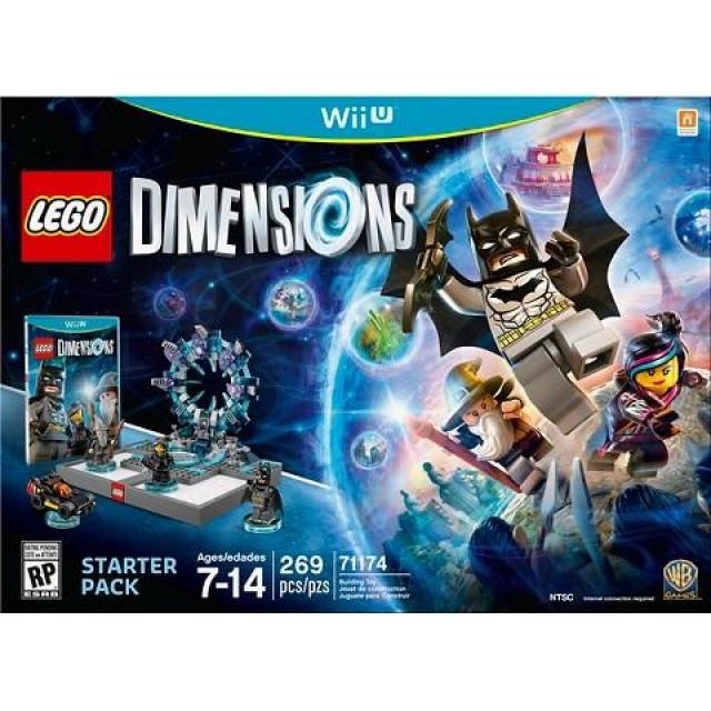 Lego Dimensions Starter Pack Wii U for $32.49