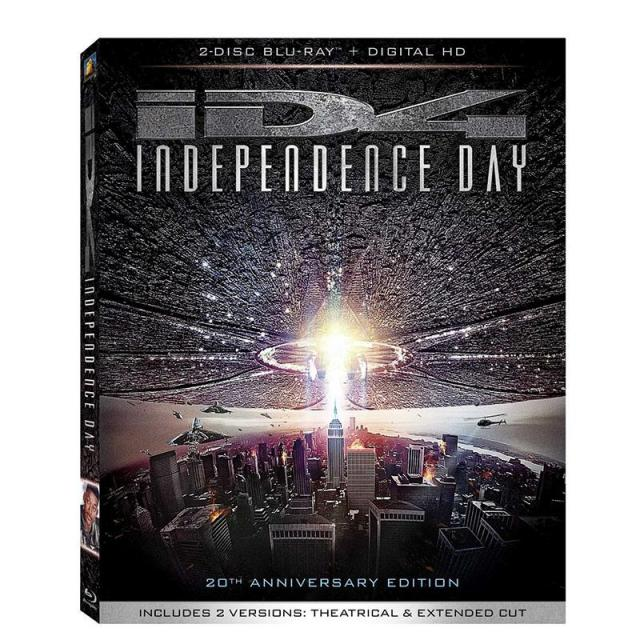 Independence Day Blu-ray and Movie Money for $9.96