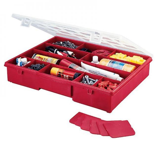 Stack-On Compartment Storage Box for $4.99