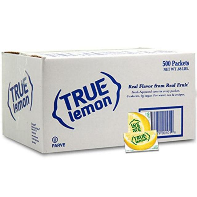 500 True Lemon Bulk Pack for $12.07