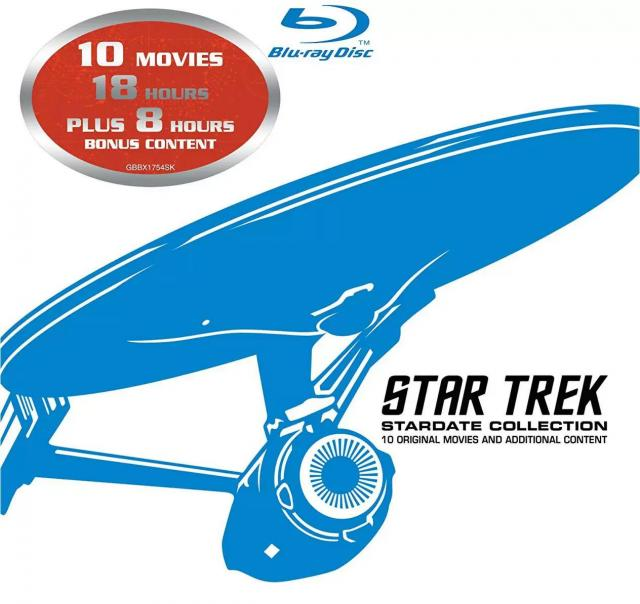 Star Trek Stardate Collection Blu-ray Set for $32.99